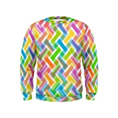 Abstract Pattern Colorful Wallpaper Background Kids  Sweatshirt