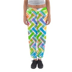 Abstract Pattern Colorful Wallpaper Background Women s Jogger Sweatpants