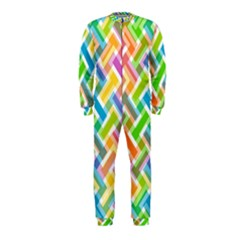 Abstract Pattern Colorful Wallpaper Background OnePiece Jumpsuit (Kids)