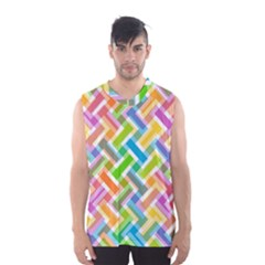 Abstract Pattern Colorful Wallpaper Background Men s Basketball Tank Top