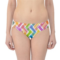Abstract Pattern Colorful Wallpaper Background Hipster Bikini Bottoms