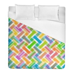 Abstract Pattern Colorful Wallpaper Background Duvet Cover (Full/ Double Size)