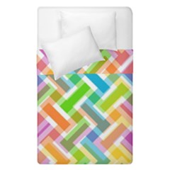 Abstract Pattern Colorful Wallpaper Background Duvet Cover Double Side (Single Size)