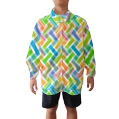 Abstract Pattern Colorful Wallpaper Background Wind Breaker (Kids)