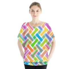 Abstract Pattern Colorful Wallpaper Background Blouse