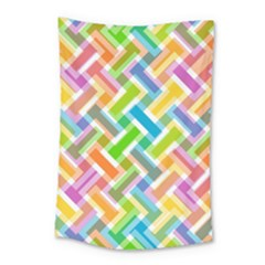 Abstract Pattern Colorful Wallpaper Background Small Tapestry