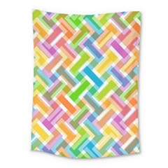 Abstract Pattern Colorful Wallpaper Background Medium Tapestry