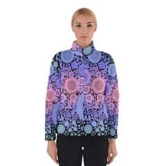 An Abstract Background Consisting Of Pastel Colored Circle Winterwear by Simbadda