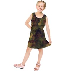 Textured Camo Kids  Tunic Dress by Simbadda