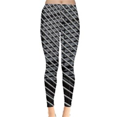 Abstract Architecture Pattern Leggings  by Simbadda