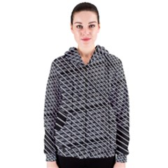 Abstract Architecture Pattern Women s Zipper Hoodie by Simbadda