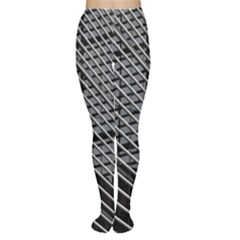 Abstract Architecture Pattern Women s Tights by Simbadda