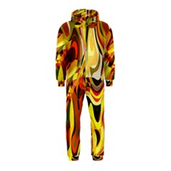 Colourful Abstract Background Design Hooded Jumpsuit (kids)