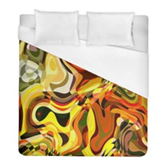 Colourful Abstract Background Design Duvet Cover (full/ Double Size) by Simbadda