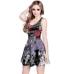 Music Note Reversible Sleeveless Dress