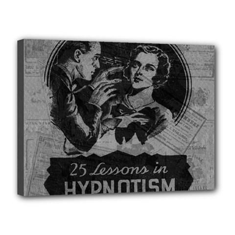 Vintage Hypnotism Canvas 16  X 12  by Valentinaart