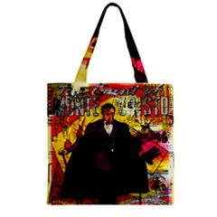 Monte Cristo Zipper Grocery Tote Bag by Valentinaart