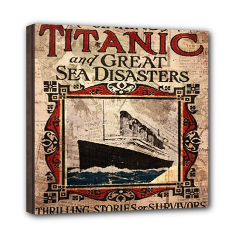 Titanic Mini Canvas 8  X 8  by Valentinaart