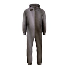Fractal Background With Grey Ripples Hooded Jumpsuit (kids)