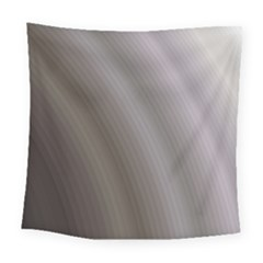 Fractal Background With Grey Ripples Square Tapestry (large) by Simbadda