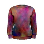 Rainbow Clouds Women s Sweatshirt