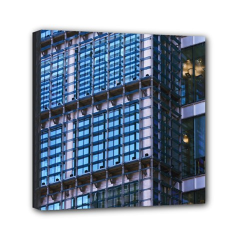 Modern Business Architecture Mini Canvas 6  X 6  by Simbadda
