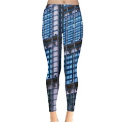Modern Business Architecture Leggings  by Simbadda