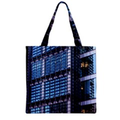 Modern Business Architecture Grocery Tote Bag by Simbadda