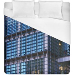 Modern Business Architecture Duvet Cover (king Size) by Simbadda