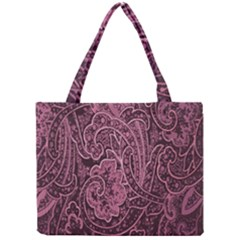 Abstract Purple Background Natural Motive Mini Tote Bag