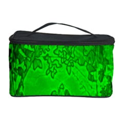 Leaf Outline Abstract Cosmetic Storage Case by Simbadda