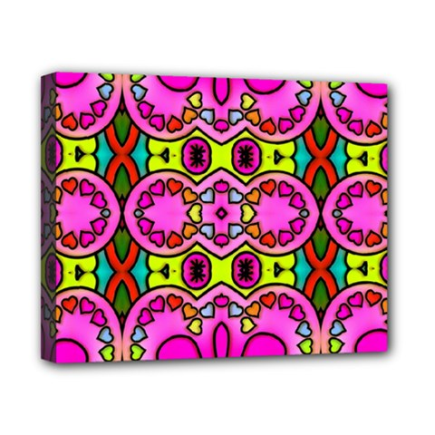 Colourful Abstract Background Design Pattern Canvas 10  X 8  by Simbadda