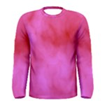 Pink Clouds Men s Long Sleeve Tee
