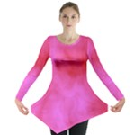 Pink Clouds Long Sleeve Tunic