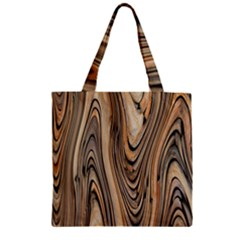 Abstract Background Design Zipper Grocery Tote Bag by Simbadda