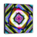 Rippled Geometry  Mini Canvas 8  x 8  (Stretched)