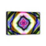 Rippled Geometry  Mini Canvas 6  x 4  (Stretched)