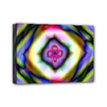 Rippled Geometry  Mini Canvas 7  x 5  (Stretched)