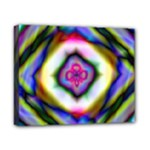 Rippled Geometry  Canvas 10  x 8  (Stretched)