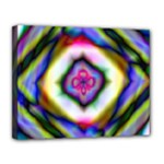 Rippled Geometry  Canvas 14  x 11  (Stretched)