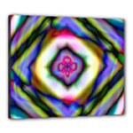Rippled Geometry  Canvas 24  x 20  (Stretched)