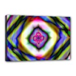 Rippled Geometry  Canvas 18  x 12  (Stretched)