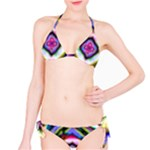 Rippled Geometry  Bikini Set