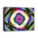 Rippled Geometry  Deluxe Canvas 16  x 12  (Stretched)