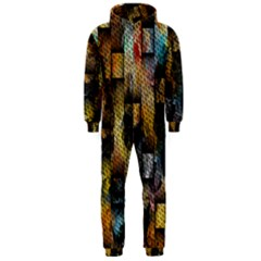 Fabric Weave Hooded Jumpsuit (men)