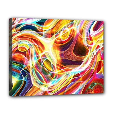 Colourful Abstract Background Design Canvas 14  X 11  by Simbadda