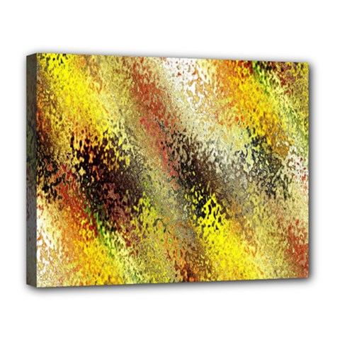 Multi Colored Seamless Abstract Background Canvas 14  X 11  by Simbadda