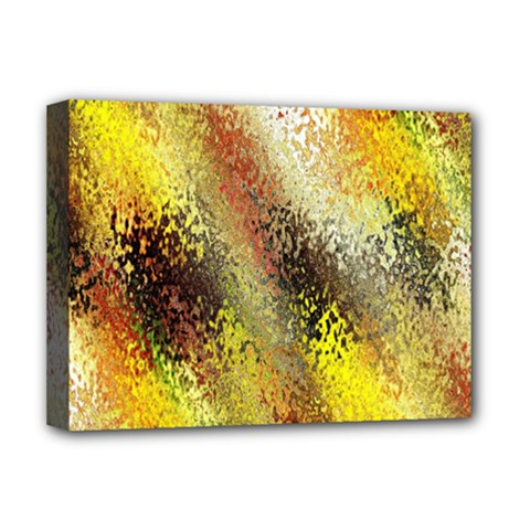 Multi Colored Seamless Abstract Background Deluxe Canvas 16  X 12   by Simbadda