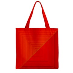 Abstract Clutter Baffled Field Zipper Grocery Tote Bag by Simbadda