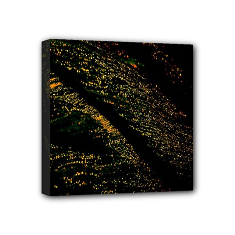 Abstract Background Mini Canvas 4  X 4  by Simbadda